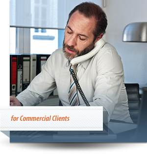 Retrieving revenue for commercial clients